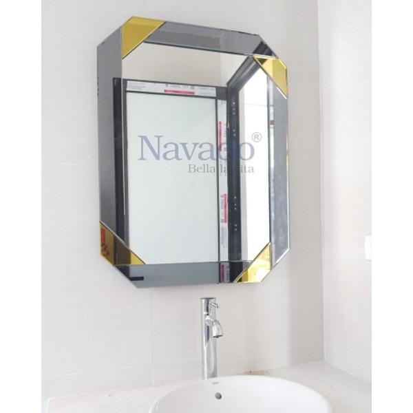 Gương phòng tắm treo tường hiện đại Luxury