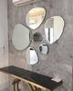 Gương trang trí nội thất bộ viên đá