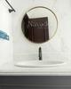 Gương phòng tắm inox mạ Pvd D60cm