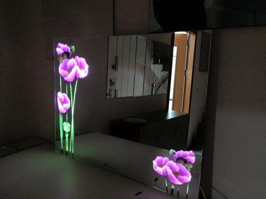 Gương đèn led Poppies