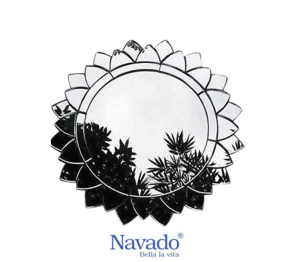 Gương trang trí nội thất Sun Flower