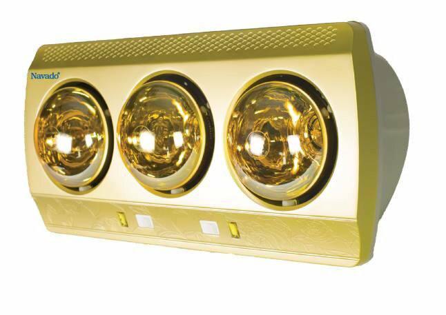 Đèn sưởi phòng tắm NAV 8003