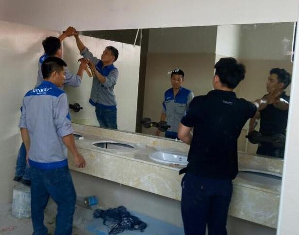 Gương bỉ cắt theo kích thước