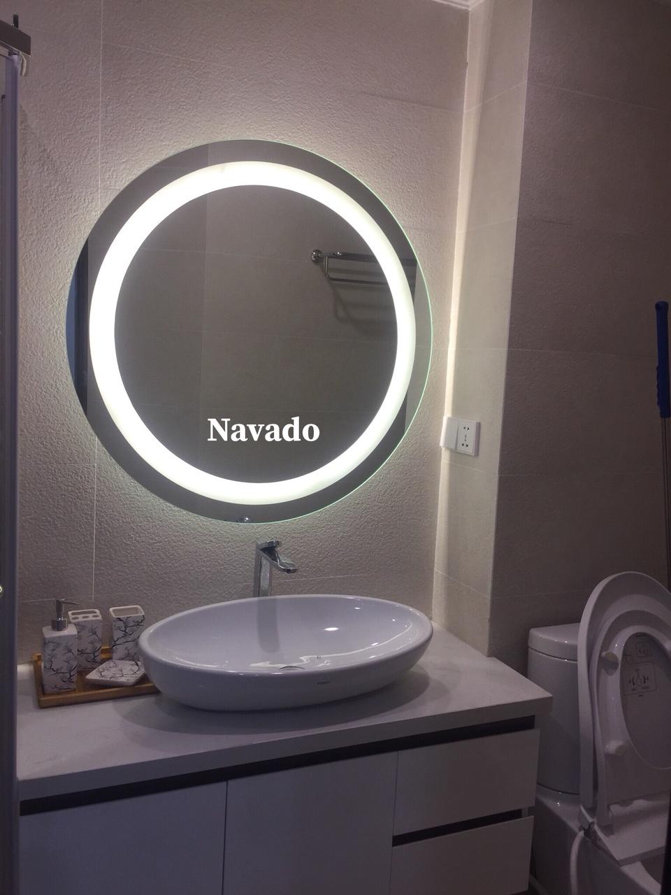 Gương đèn led phòng tắm 1011C