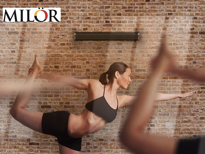 Tấm sưởi cho phòng tập hot yoga