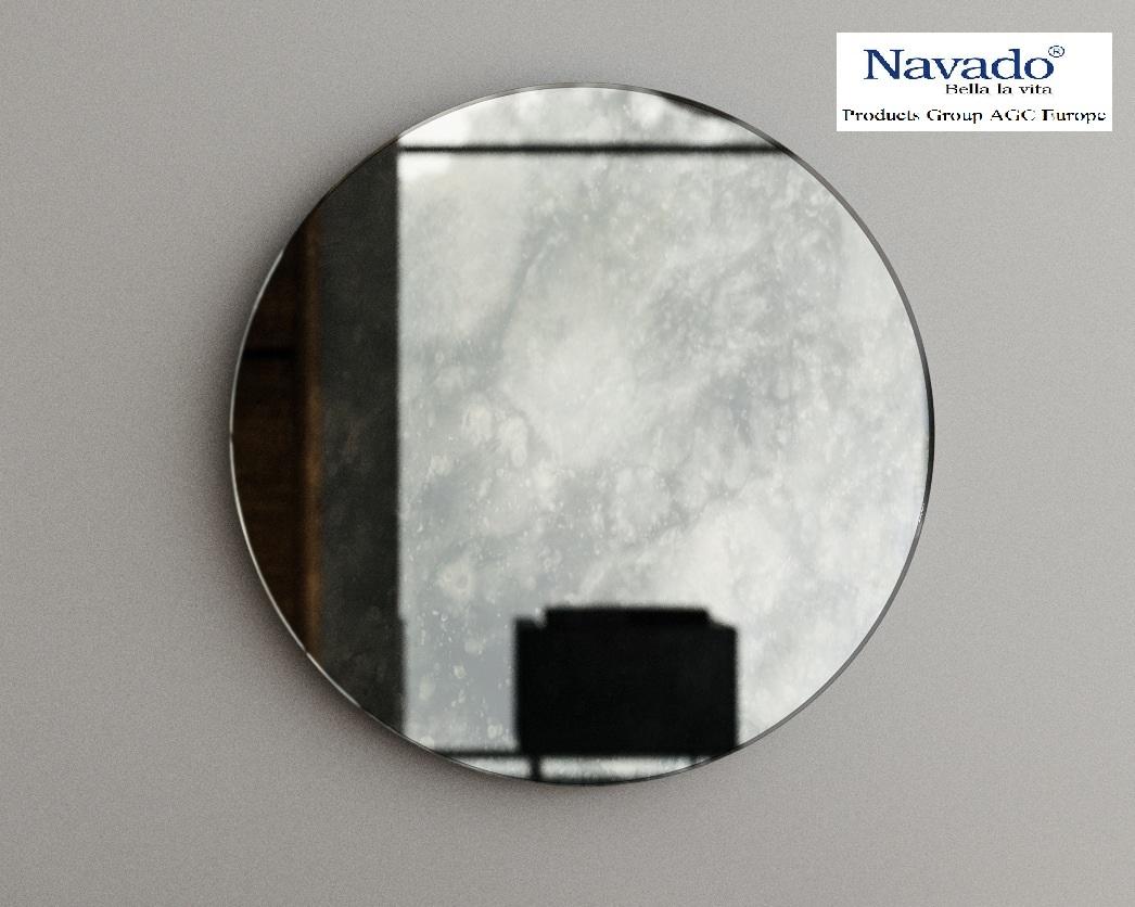Gương màu khói cổ điển navado
