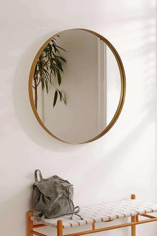 Gương tròn trong thiết kế