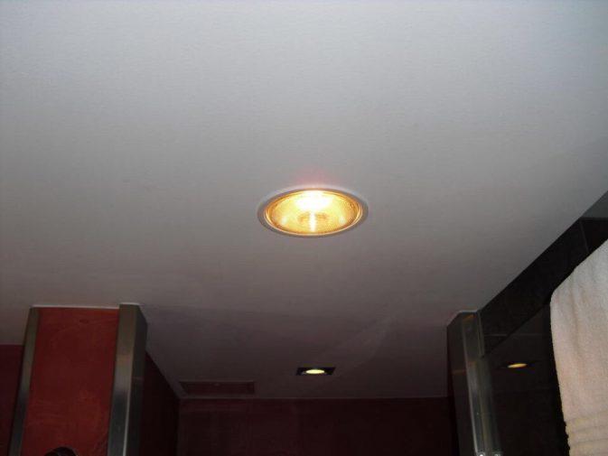 Đèn sưởi âm trần 1 bóng