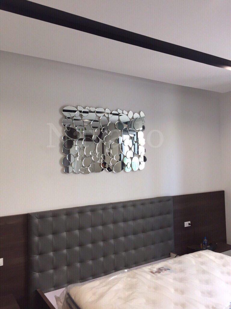 Gương ghép phòng khách Memaid