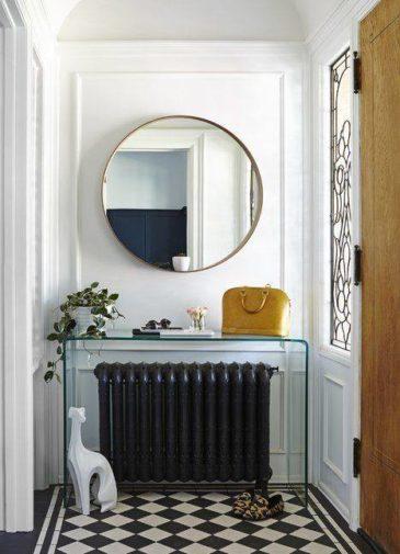 Gương tròn treo tường trang trí