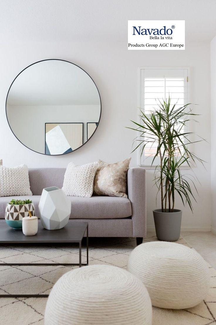Mua gương trang trí phòng khách