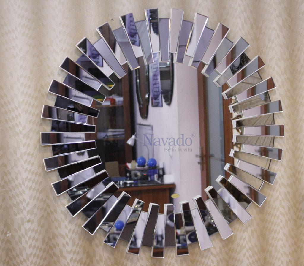 Gương trang trí phòng khách metasy