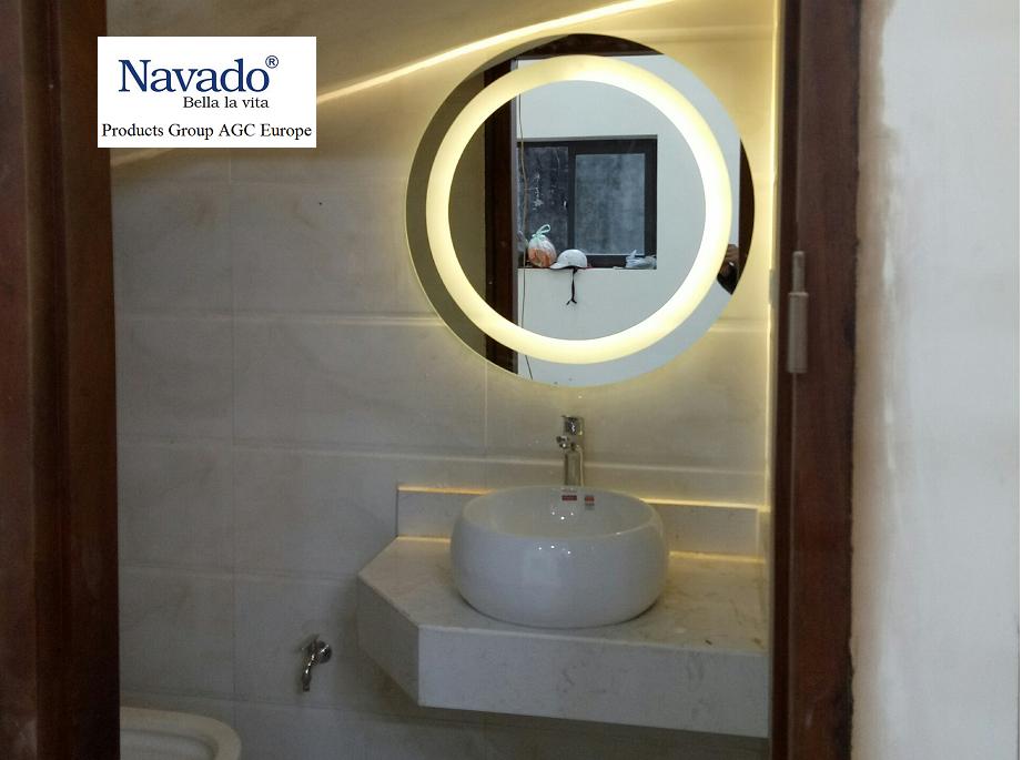 Gương phòng tắm tại An Giang