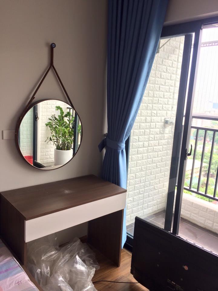 Gương phòng tắm lai châu, gương bàn trang điểm lai châu,gương nghệ thuật lai châu, gương treo dây da lai châu