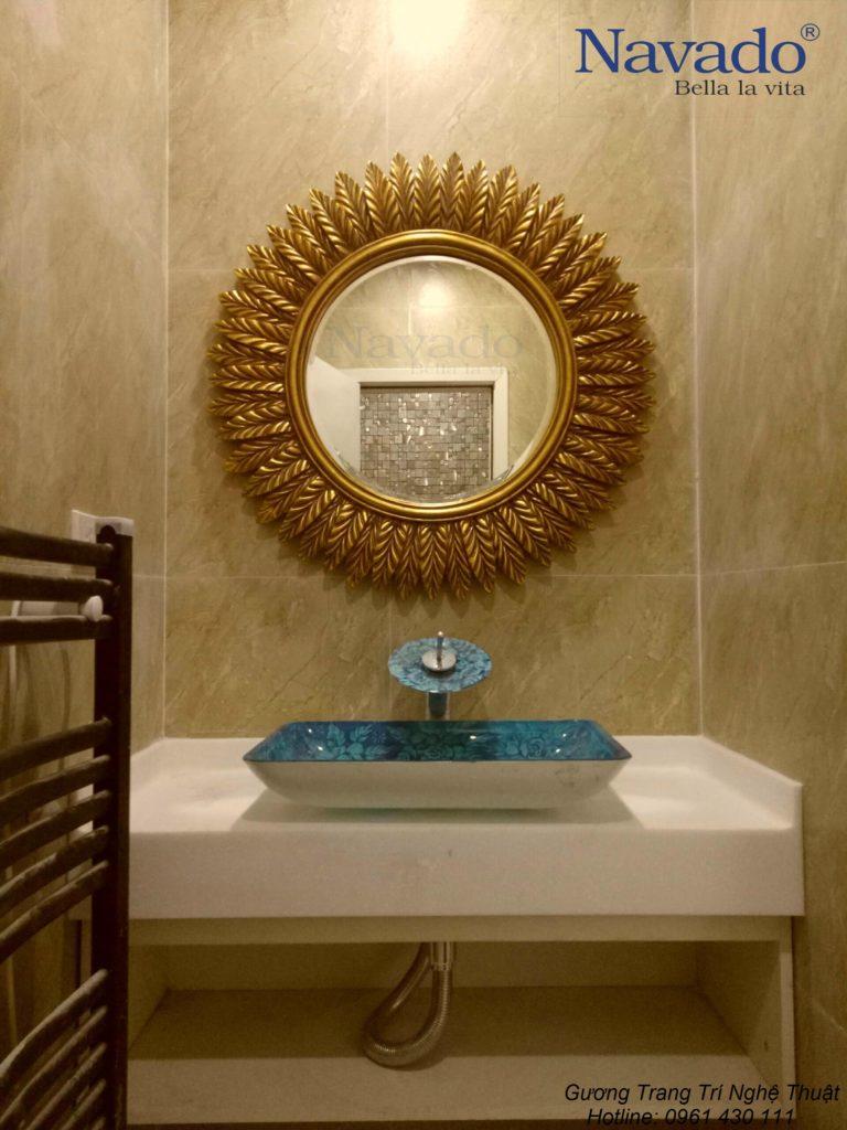 Các bố trí gương phòng tắm phù hợp