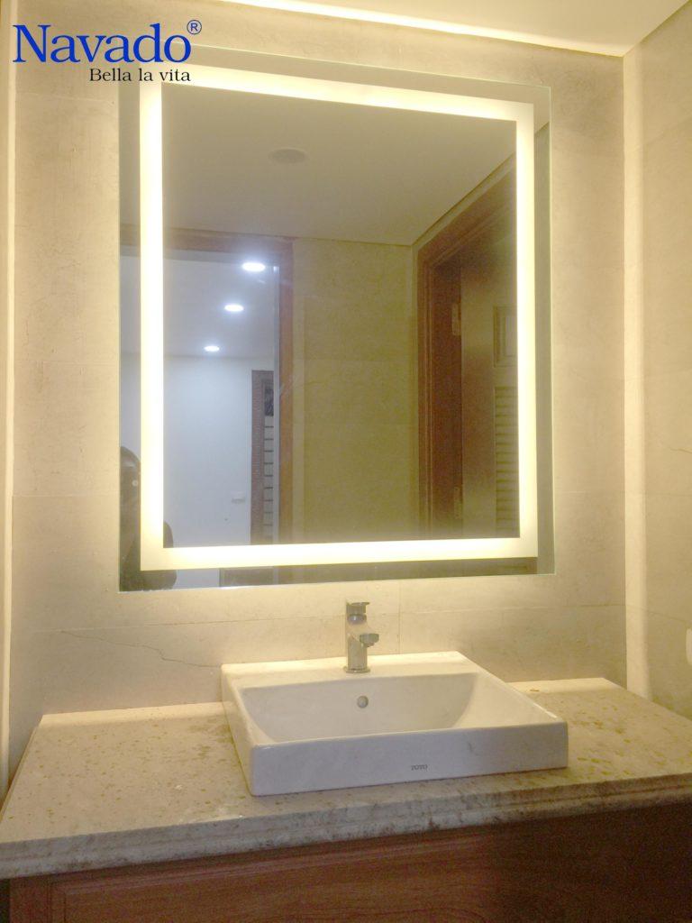 Những lưu ý cho bạn khi chọn gương phòng tắm
