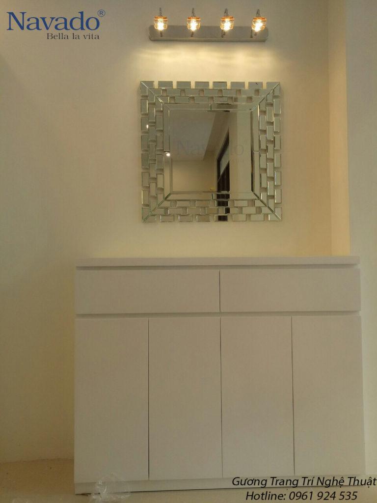 Chọn gương treo tường phù hợp cho từng phong cách nội thất