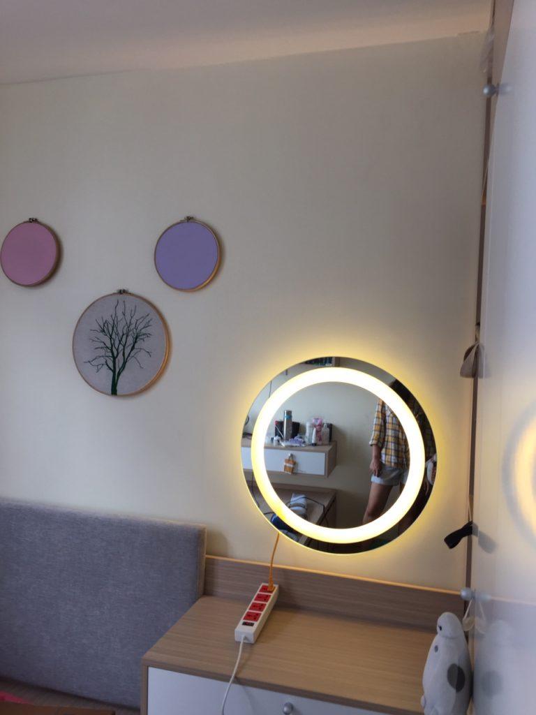 Khi nào nên chọn gương trang điểm đèn led?