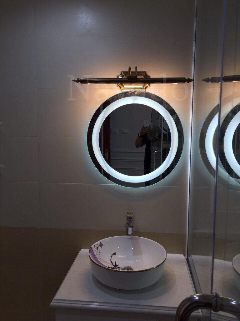 Gương đèn led treo tường