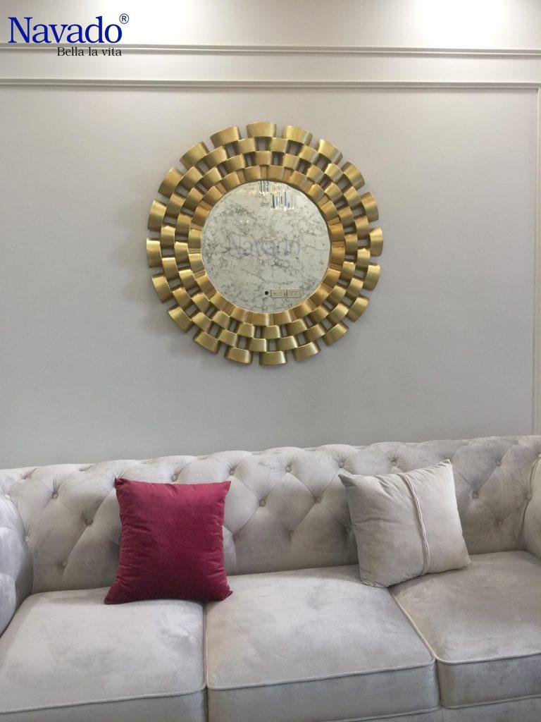 Buy decorative living room mirrors