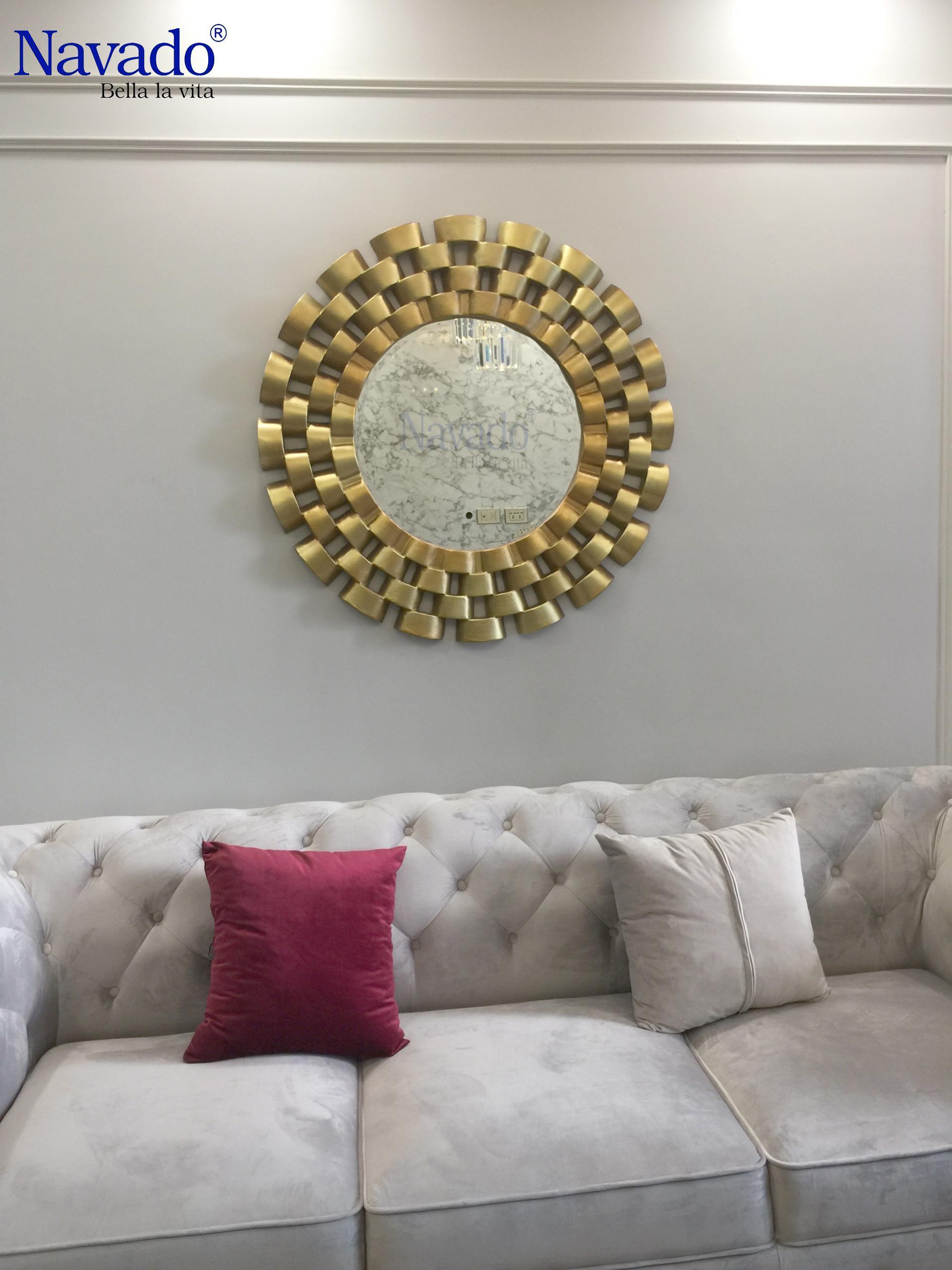 Bí quyết trang trí phòng khách tân cổ điển