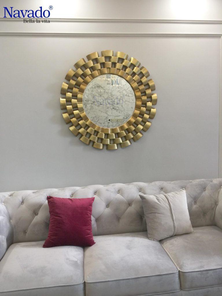 Gương treo tường cổ điển navado