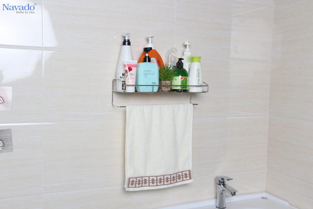 Cách bố trí phụ kiện phòng tắm