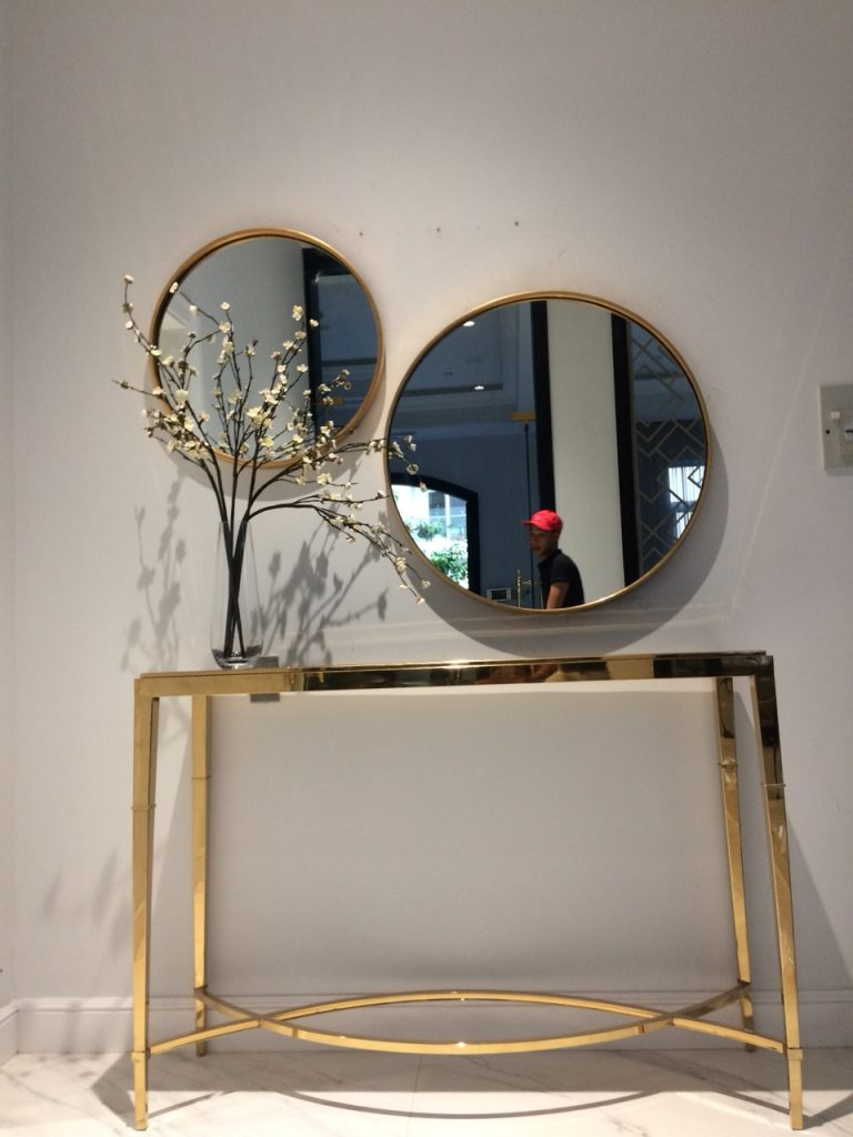 Gương tròn decor Oras
