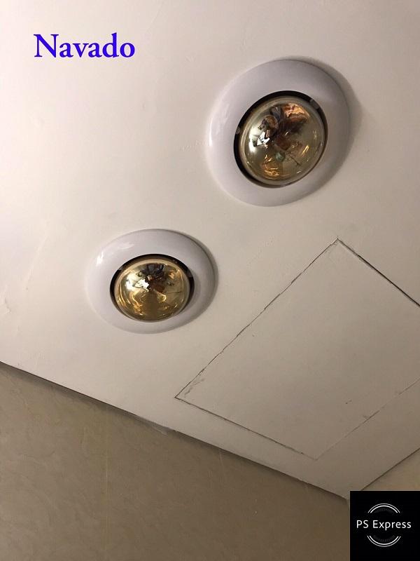 Lựa chọn đèn sưởi hồng ngoại nhà tắm