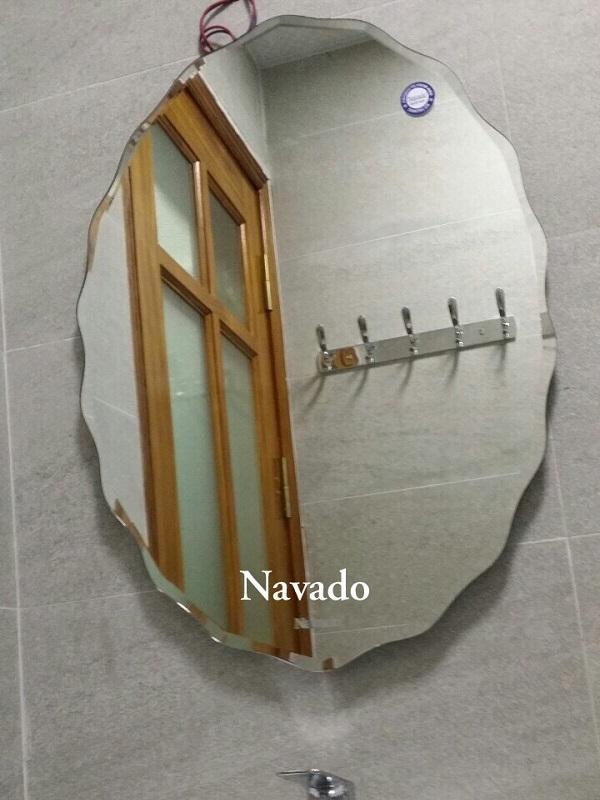 Gương decor phòng tắm 542C