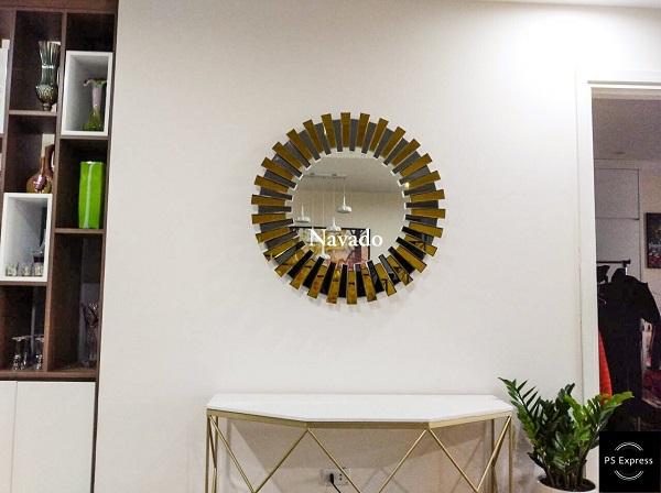 Gương Mystery trang trí phòng khách