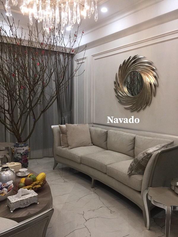 Gương treo tường Nut