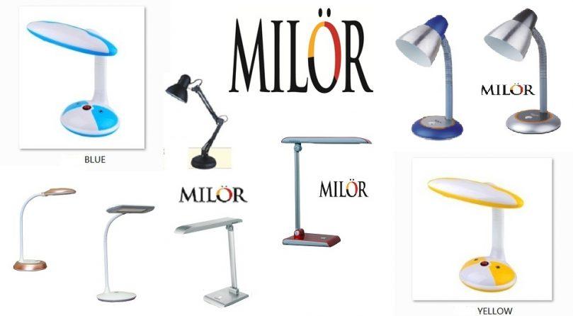 Đèn bàn chống cận Milor - Bảo vệ đôi mắt của bạn