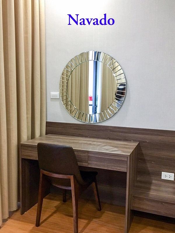 gương đơn giản cho phòng ngủ
