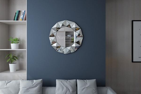 Gương trang trí phòng khách Queen Bee
