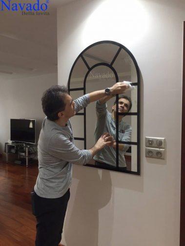 Gương trang trí nghệ thuật đẳng cấp