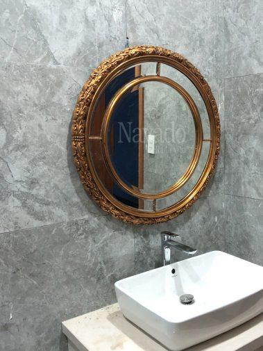 Gương phòng tắm decor gắn tường