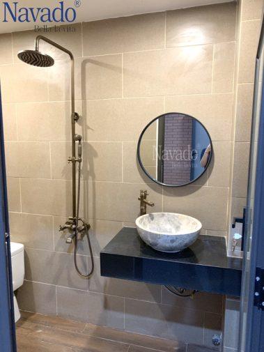 Gương phòng tắn decor gắn tường