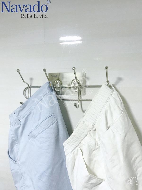 Kệ móc khăn dán tường