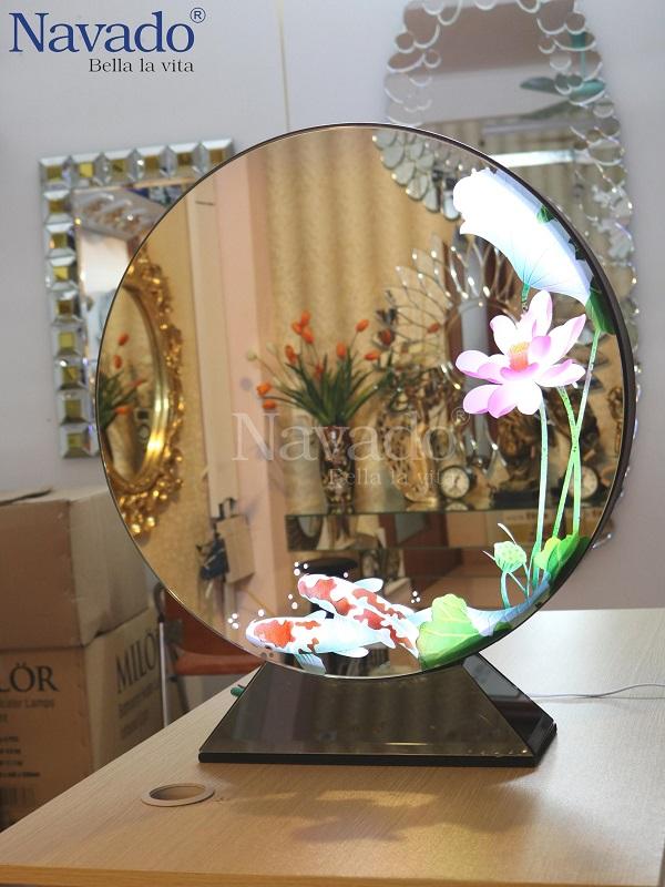 Gương hai mặt nghệ thuật Lotus